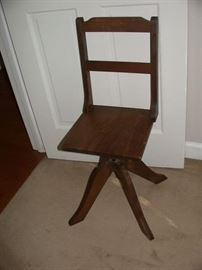 Old swivel chair