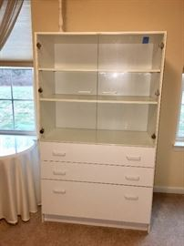 Cabinet w glass doors