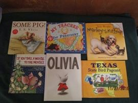 Children's books.  Many New...Many like new!  All in excellent condition.  Perfect for gift giving this holiday season!