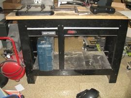 Craftsman - 2-Drawer Workbench