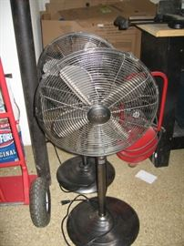 Set of Holmes Oscillating Fans