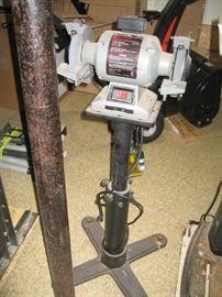 """Craftsman - 6"""" Bench Grinder 1/3 HP w/Stand"""