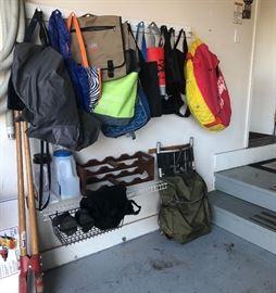 Post Digger, Bags, Racks