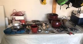 Garden Decorations, Camping Equipment, Ceramic Flower Pots