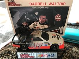 Nascar collectibles including driver signed cars