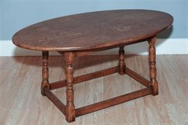 4. Provincial Style wooden Coffee Table