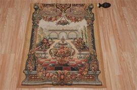 2. Point de Loiselles Decorative Tapestry
