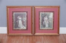 11. Matching Set of Two Decorative Prints