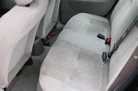 backseat view