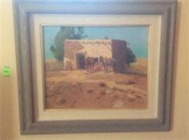 Original Oil by Dale Goss