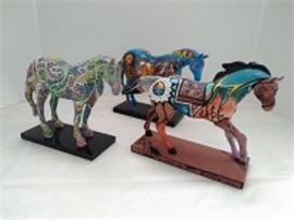 Trail of Painted Ponies Figurines