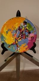 Harlequin Plate copied from Leroy Neiman for Royal Daulton International Collectors,  First of a Series, 1974