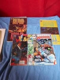 Batman Riddler and Other Comic Book Lot