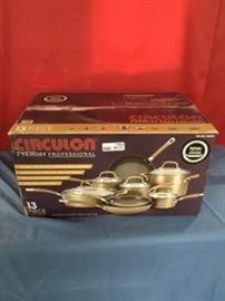 Circulon Premier Professional Hard Anodized 13pc C ...