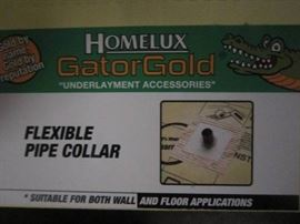 Homelux Gator gold Flexable Pipe Collars