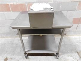 Heated Pass Through Table