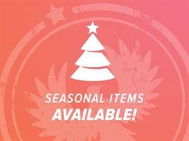 Seasonal Items Available Christmas