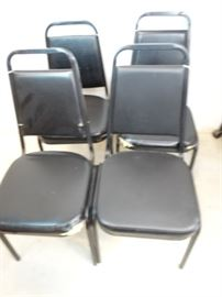 Stackable Banquet Chairs, Ripped