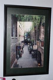 Downtown Omaha, framed
