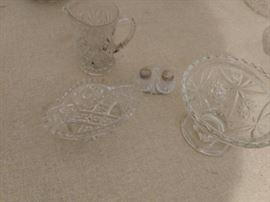 Clear depression glass possibly Northwood Nearcut ...