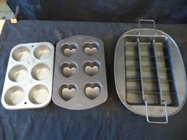3pc. Muffin Pans