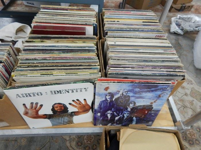Rock and Roll Record Album Lots
