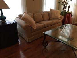 Beautiful Newly Reupholstered Sofa