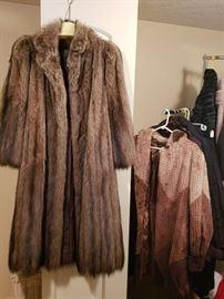 Yves Saint Laurent Mink Coat