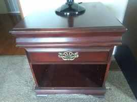 Pair of end tables $85