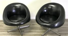 Vintage Overman Style Swivel Pod Chairs  https://ctbids.com/#!/description/share/74257