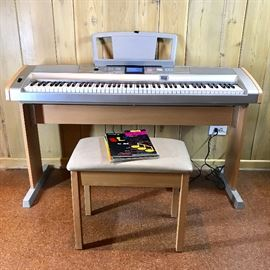 Yamaha Electric Grand Piano    https://ctbids.com/#!/description/share/74272