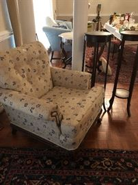 Great chair for a startup or bedroom $35 Great deal come early! Will not last!
