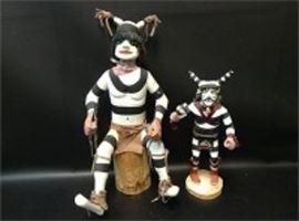 Clown Kachinas