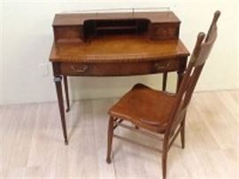 Mahogany Desk with Chair