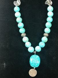 Turquoise Necklace https://ctbids.com/#!/description/share/75758