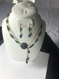 Necklace with Matching Earrings https://ctbids.com/#!/description/share/75756