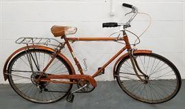 Vintage 1965 SchwinnRadiant Coppertone Collegiate 5 Speed Bicycle