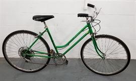 Vintage 1976 SchwinnLime Green Collegiate Tourist Bicycle