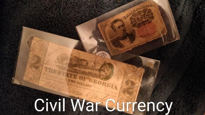 Civil War items