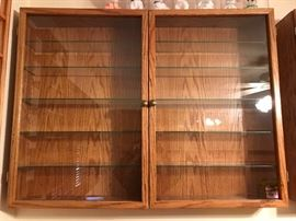 Hand Crafted Display Cabinet
