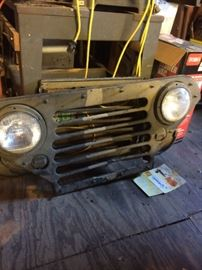 Grill for M151 Jeep