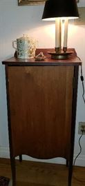 Antique Mahogany Sheet Music Cabinet