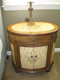 one of a pair of nightstands