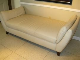 Italsofa leather chaise