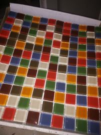 Beautiful tile for that small space diy/art project