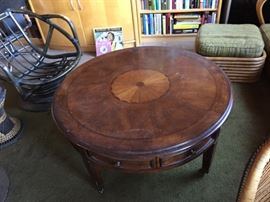 inlayed table