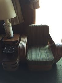 mid century Bamboo Chair