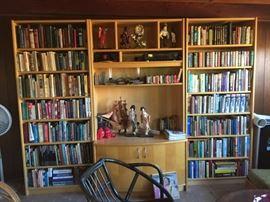 Entertainment Unit & Books
