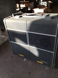 Old portable stereo