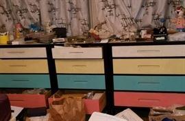 50's drawer sets